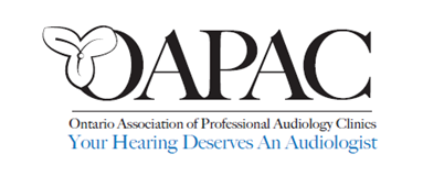 ONTARIO ASSOCIATION OF PROFESSIONAL AUDIOLOGY CLINICS
